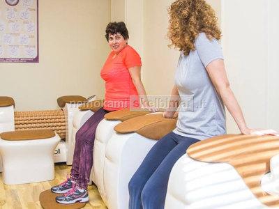 Parduodami Roll masažo aparatai, limfodrenazinis aparatas Vacu Evolution, Vibra platforma