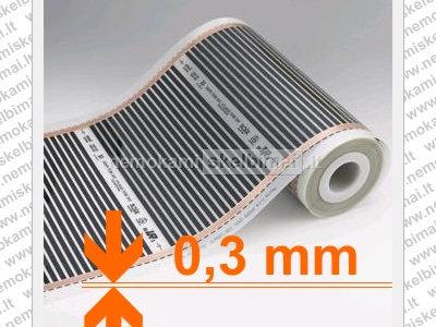 Grindinis šildymas, Infraraudonųjų spindulių - 14, 50 EUR m2