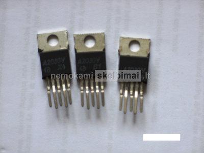 Mikroschemos A2030 K174UN19 - ŽD stiprintuvas