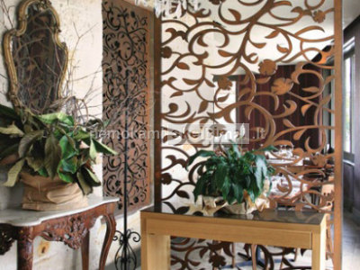 Fasadines ir interjero dekoravimo detales