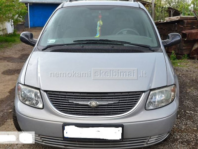 Chrysler Grand Voyager 2001m. dalimis