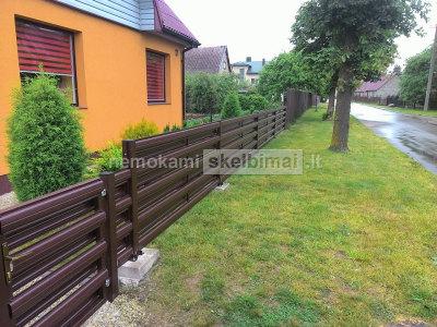 Plieniniai tvoros lementai dvipusio dazymo nuo 1. 5 eur uz metra