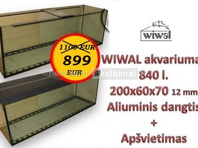 Akvariumas 840l 200cm