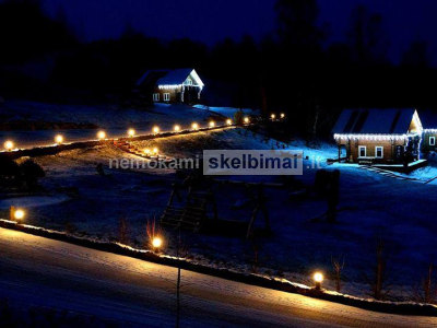 Vila, nameliai, kambarių nuoma Raseinių rajone sodyba Pakalnė