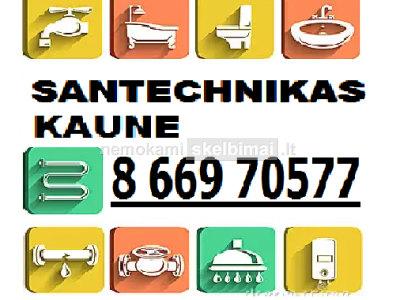 Santechniko paslaugos Kaune