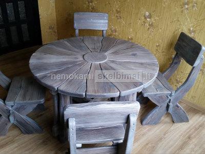 Lauko, priepircio, terasos baldai