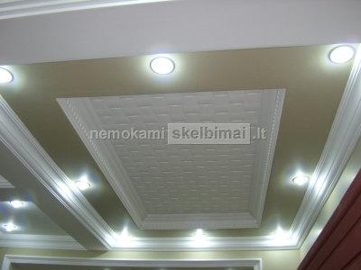 Išskirtinis sienu, lubų dekoravimas