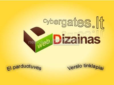 Internetinių svetainių, el. parduotuvių kūrimas. web sprendimai