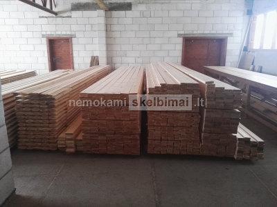 Dailylentes, pakalimai, terasines lentos bei statybine mediena geromis kainomis