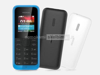Nokia 105 telefonas