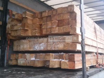 Dvigubo pjovimo Sibiro maumedžio mediena