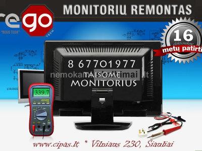 SPARČIAUSIAS, PATIKIMAS LCD LED monitorių remontas