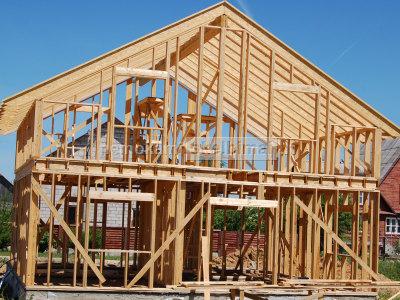 Karkasinių namų statyba, karkasiniai namai kaina, karkasiniai namai lizingu