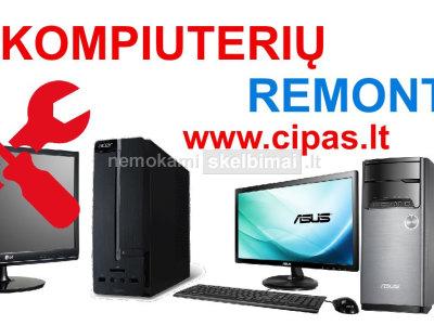 Stacionaraus stalinio kompiuterio remontas taisykla paslaugos Šiauliai www. cipas. lt