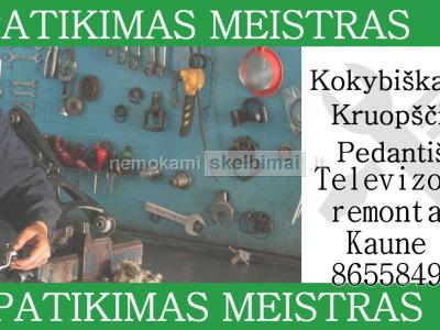 televizoriu remontas Kaunas 865584900