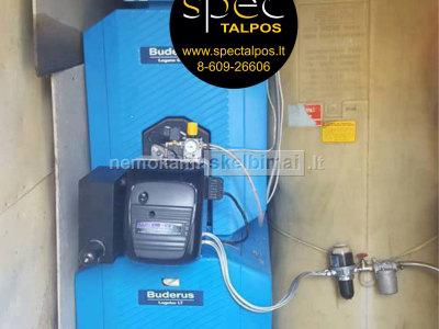 Skysto kuro talpykla šildymo sistemoms