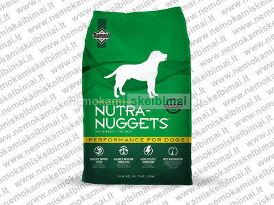 Nuttra Nuggets - Performance 15kg