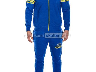 Mėlynas vyriškas dviejų dalių kostiumas