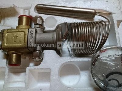 termostatinis išsiplėtimo vožtuvas