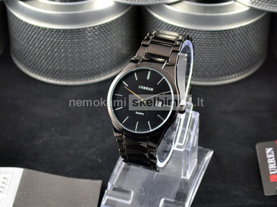Naujas vyriškas Curren laikrodis