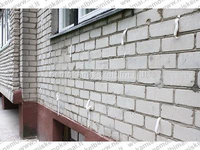 Sienų šiltinimas termoputa