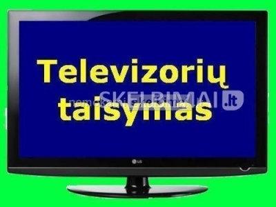 TELEVIZORIŲ TAISYMAS 8 603 38889