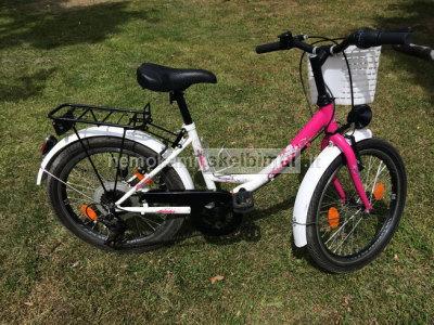 Parduodamas vaikiškas dviratis mergaitėms