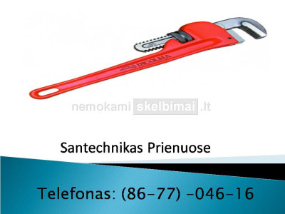 Santechnikas Prienai 867704616