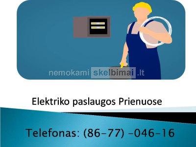 Elektrikas Prienai 867704616