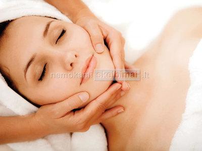 Veido masažas pilingas kaukė