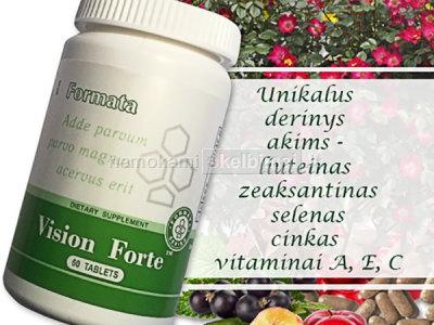Vision Forte 60 vitaminai AKIMS - SANTEGRA