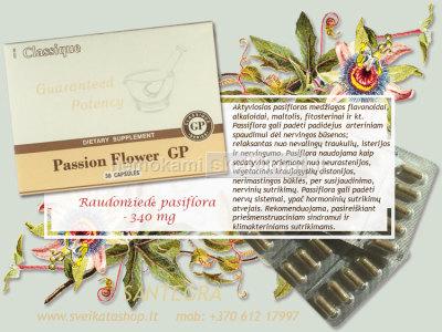 Passion Flower GP 30 kaps, pasiflora - SANTEGRA