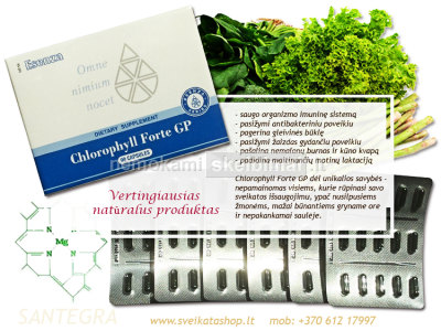 Chlorophyll Forte GP 90 kaps - SANTEGRA