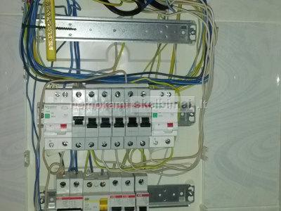 Elektros darbai. Signalizcijos montavimas