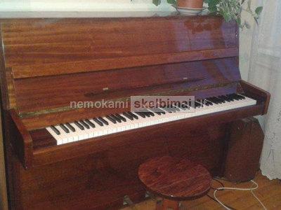 parduodamas pianinas Ryga