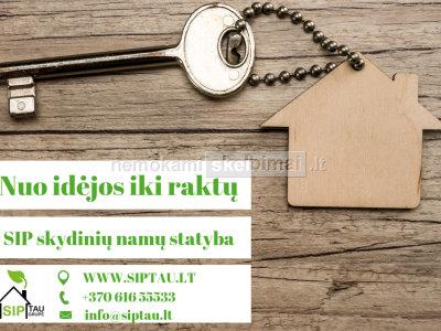 SIPTAU - SIP plokščių gamyba ir skydiniai namai