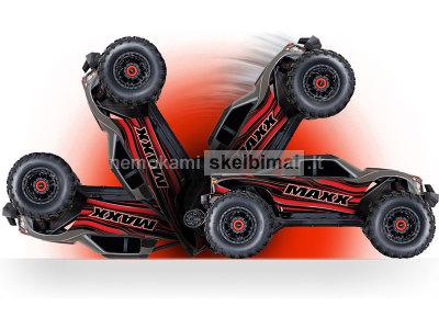 Mašinėlė su pultu 4X4