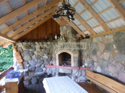 Akmens mūro darbai, grindinių klojimas