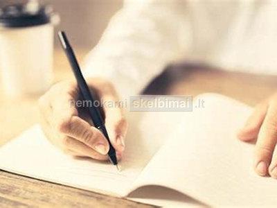 Rašto darbai referatai prezentacijos