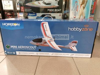 RC Lėktuvas Hobbyzone Mini AeroScout 0. 77m RTF