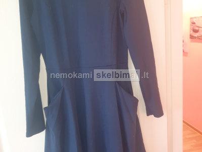 Tamsiai mėlyna suknutė Sidonas