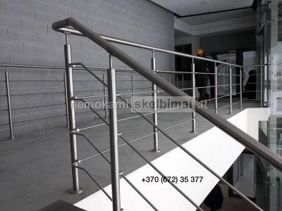 Nerūdijančio plieno turėklų gamyba ir montavimas
